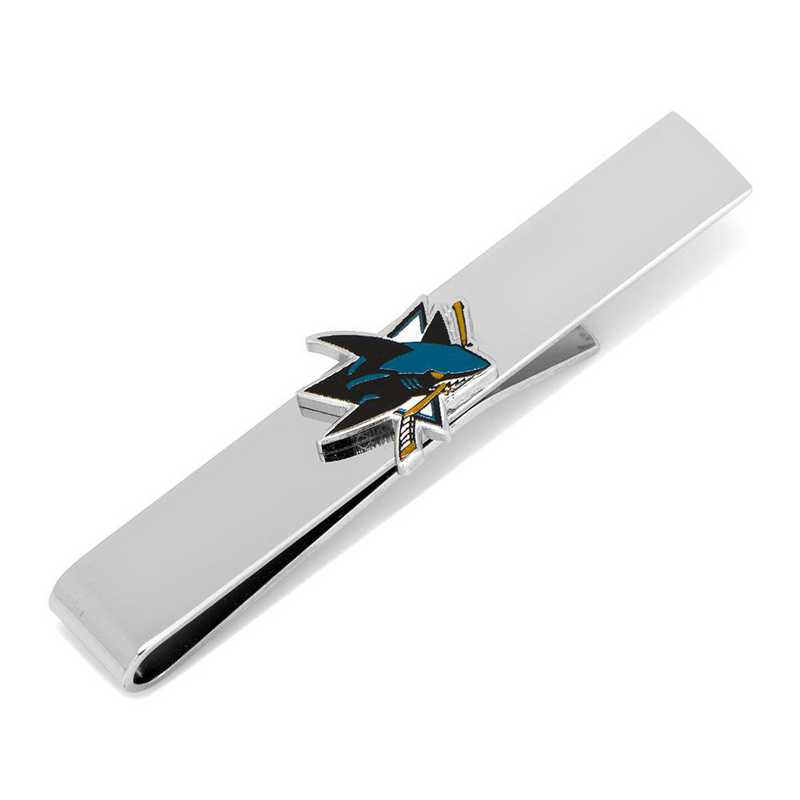 PD-SJS-TB: San Jose Sharks Tie bar