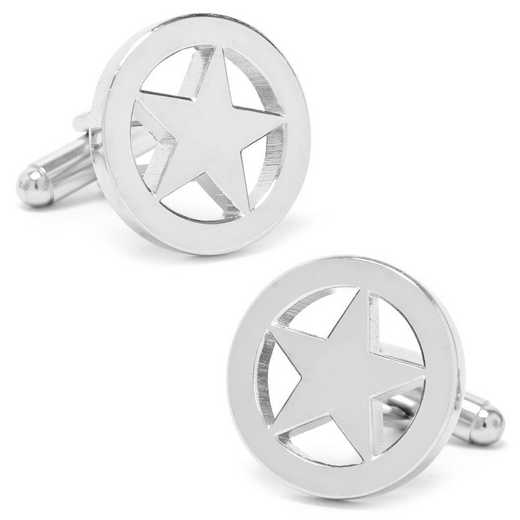PD-SLST-SL: Lone Star Cufflinks