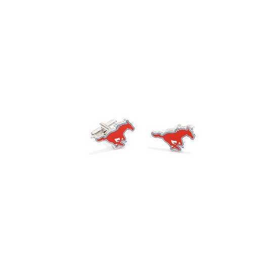 PD-SMU-SL: SMU Mustangs Cufflinks