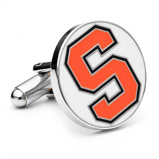 PD-SYR-SL: Syracuse University Orangemen Cufflinks