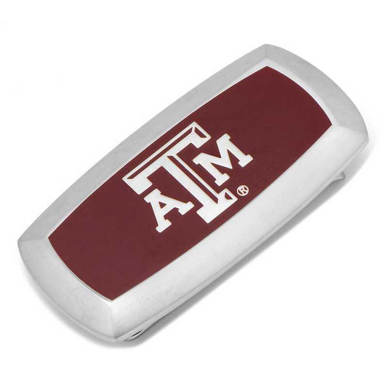 PD-TAMU-MC2: Texas A&M Aggies Cushion Money Clip