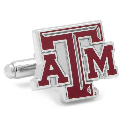 PD-TAMU-SL: Texas A&M Aggies Cufflinks