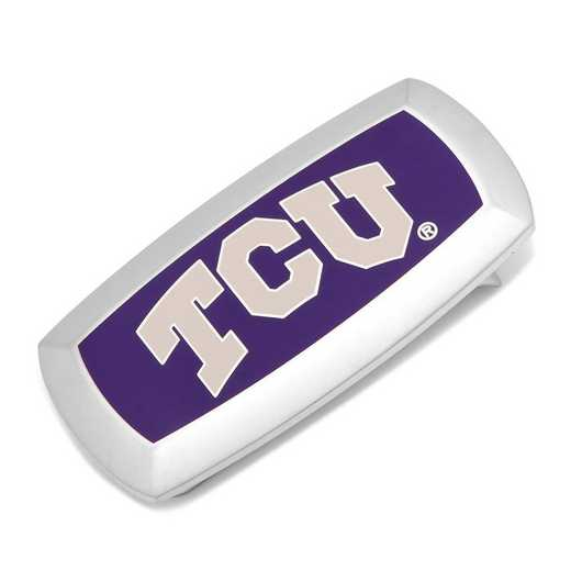 PD-TCU-MC2: TCU Horned Frogs Cushion Money Clip