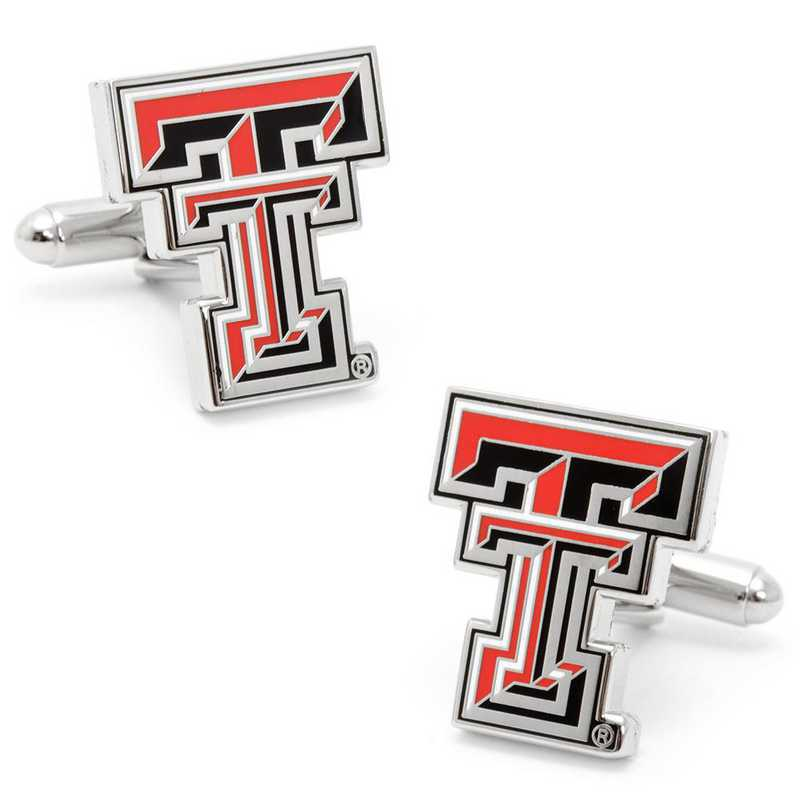 PD-TTU-SL: Texas Tech University Red Raiders Cufflinks