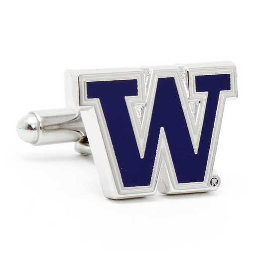 PD-UW-SL: University of Washington Huskies Cufflinks