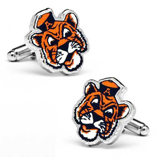 PD-VAUB-SL: Vintage Auburn University Tigers Cufflinks