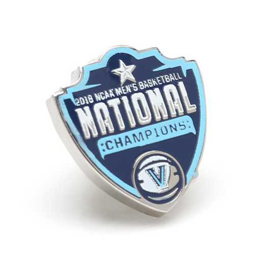 PD-VL18-LP: 2018 Villanova Wildcats NCAA Basketball Champions Lapel Pin