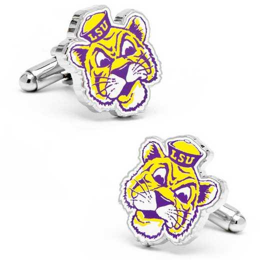 PD-VLSU-SL: Vintage LSU Tigers Cufflinks