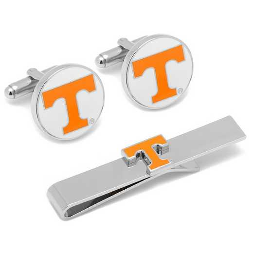 PD-VOLS-CT: University of Tennessee Cufflinks and Tie Bar Gift Set