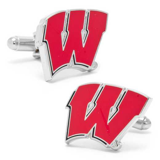 PD-WISC-SL: University of Wisconsin Badgers Cufflinks