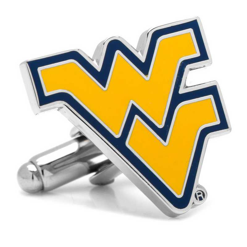 PD-WVU-SL: West Virginia Mountaineers Cufflinks