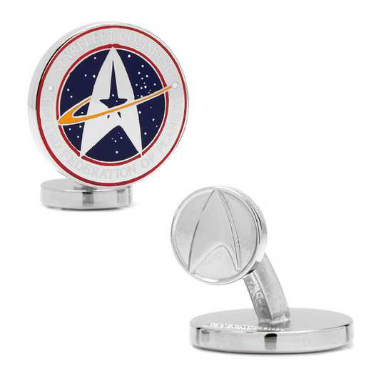 ST-STCO-SL: Star Trek Starfleet Command Cufflinks