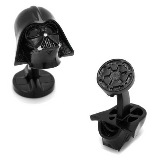 SW-DVH2-3D: 3D Darth Vader Cufflinks