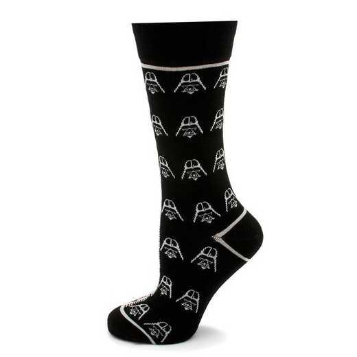 SW-DVST-BKGRY-SC: Darth Vader Stormtrooper Split Socks