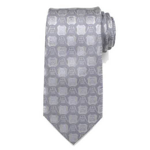 SW-DVST-GRY-TR: Darth Vader and Stormtrooper Grey Men's Tie