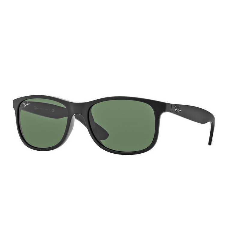 0RB420260697155: Andy Sunglasses - Black & Green Classic