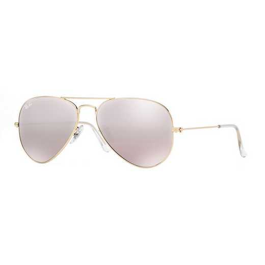 0RB30250013E: Aviator Sunglasses - Pink Flash