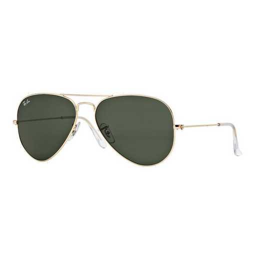 0RB3025L020558: Aviator Sunglasses - Gold