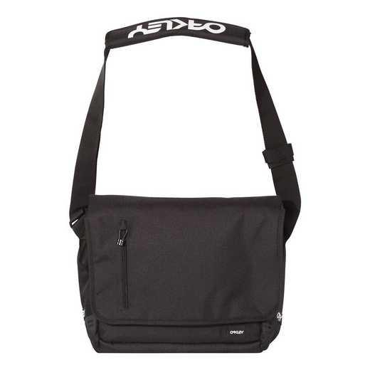 921452-02E: Oakley 15L Street Messenger Bag - Blackout