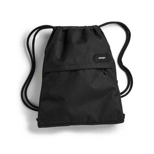 921458-02E: Oakley 13L Street Satchel Drawstring Bag - Blackout