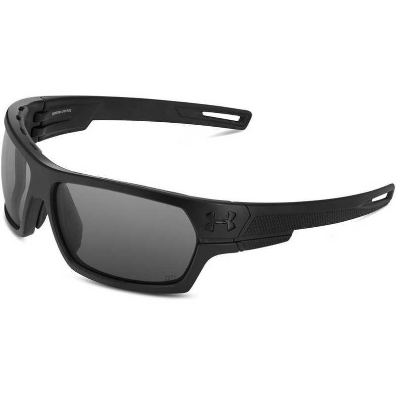 8630081-010100: Battlewrap  - Satin Black & Gray Ballistic Rated Lens
