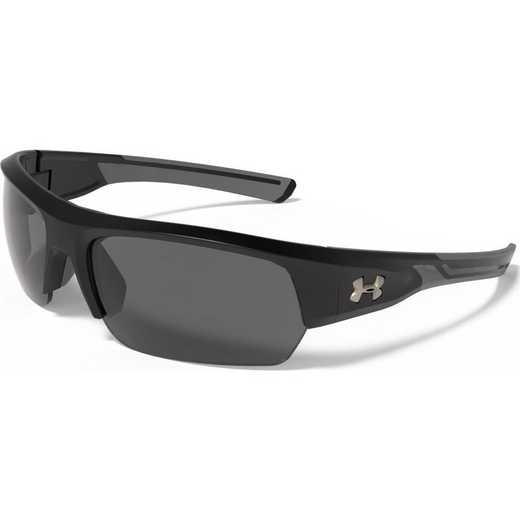8630085-010908: Big Shot -Black & Charcoal Gray Frame & Gray Polarized Lens