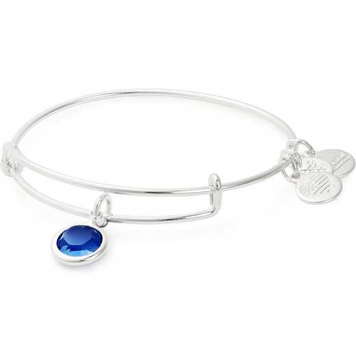 A19EB48SS: Alex and Ani September Birthstone Bangle - Sapphire Crystal