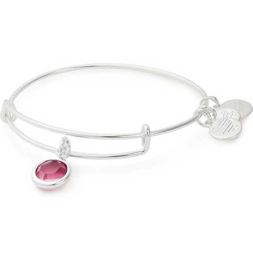 A19EB49SS: Alex and Ani October Birthstone Bangle - Rose Crystal