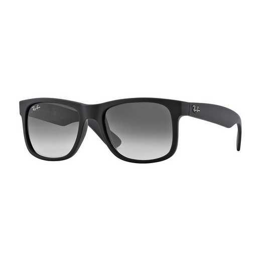 0RB41656018G55: Justin Sunglasses - Black Gradient