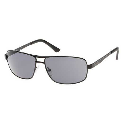 HD0642S-02A: Men's Navigator Sunglasses - Black & Smoke