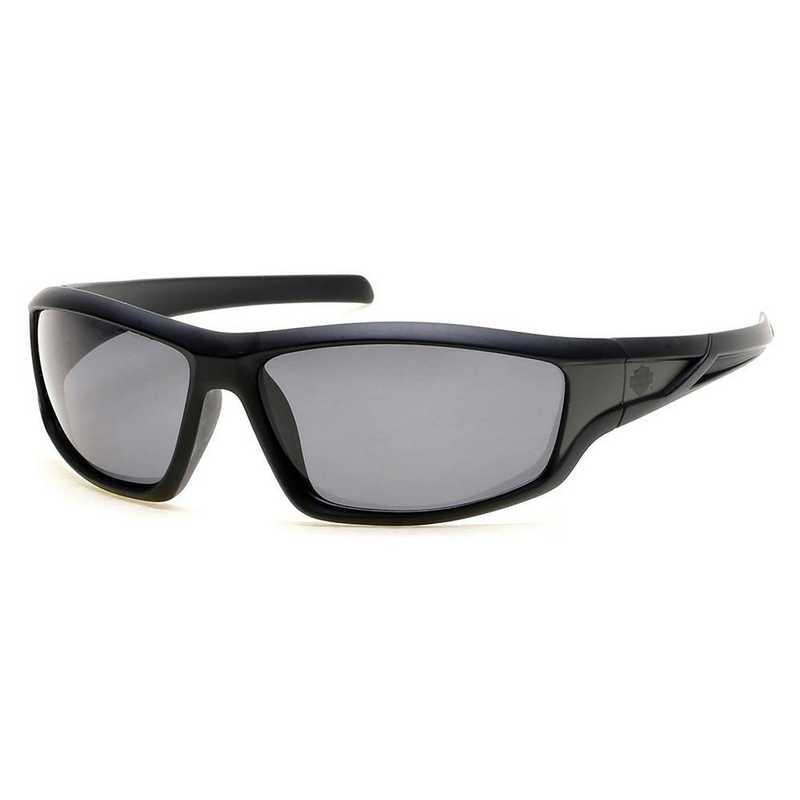 HD0631S-01D: Men's Polarized Sunglasses - Black & Smoke