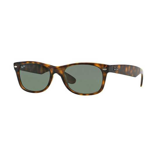 0RB2132902L55: New Wayfarer Sunglasses - Tortoise & Green