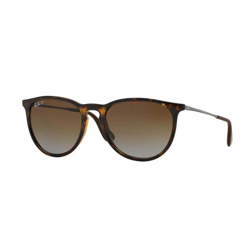 ray ban aviator gunmetal brown gradient polarized