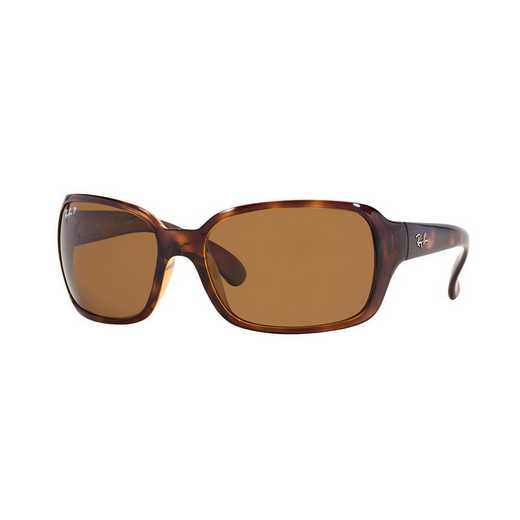 0RB40686425760: Polarized RB4068 Sunglasses - Tortoise & Brown