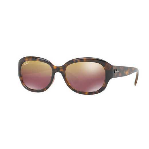 0RB4282CH7106B5518: Polarized RB4282 Chromance Sunglasses - Tortoise