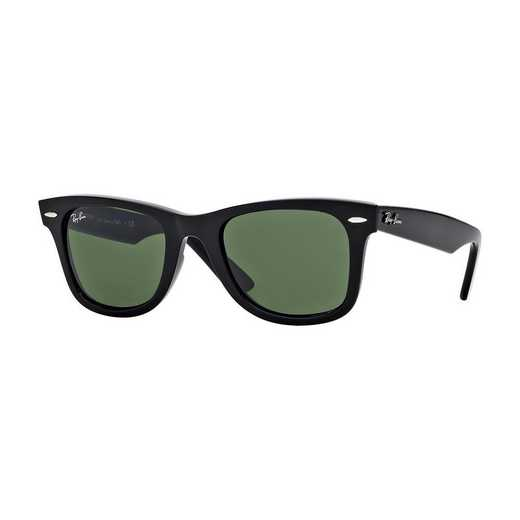0RB214090154: Wayfarer Sunglasses - Black & Green