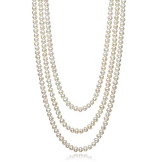 "N-6-100-BF: ENDLESS 6-7MM FRESHWATER PEARL 100"" NECKLACE"