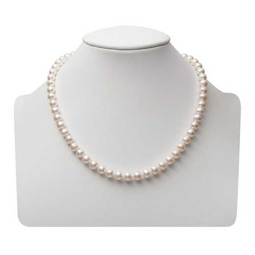 """NF-67-A-18-BF: 14KT YELLOW GOLD 6-7MM FRESHWATER PEARL18"""" NECKLACE"""