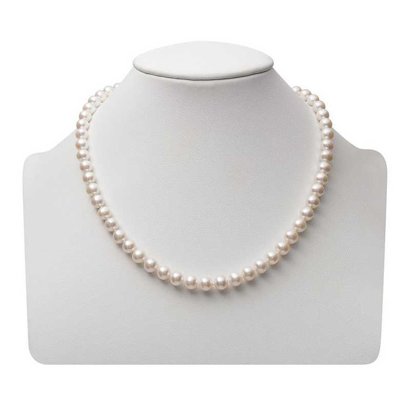 NF-67-A-18-BF: 14KT YELLOW GOLD 6-7MM FRESHWATER PEARL18