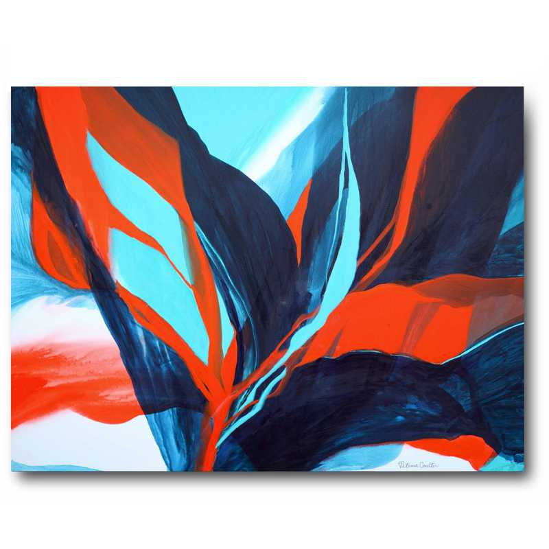 WEB-AC225-16x20: Bird of Paradise Canvas 16x20