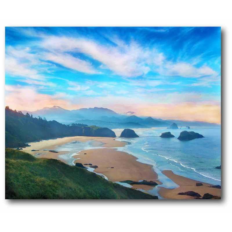 WEB-CT524-16x20: A New Day of Miracles Canvas 16x20