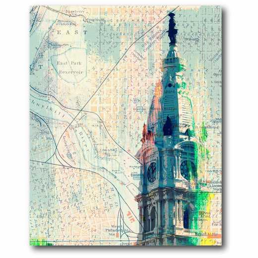 WEB-ST152: City Hall Philadelphia Canvas 16x20