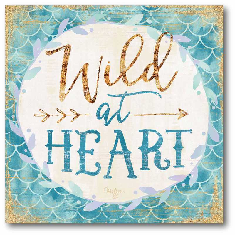 WEB-T722-16x16: Wild at Heart Canvas 16x16