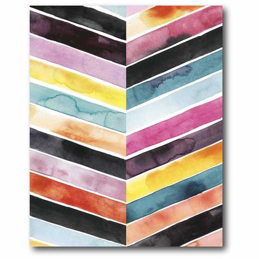 WEB-AC240: Multi Chevron Canvas 16x20
