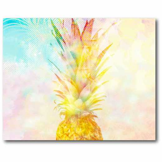 WEB-CT591: Golden Pineapple Canvas 16x20
