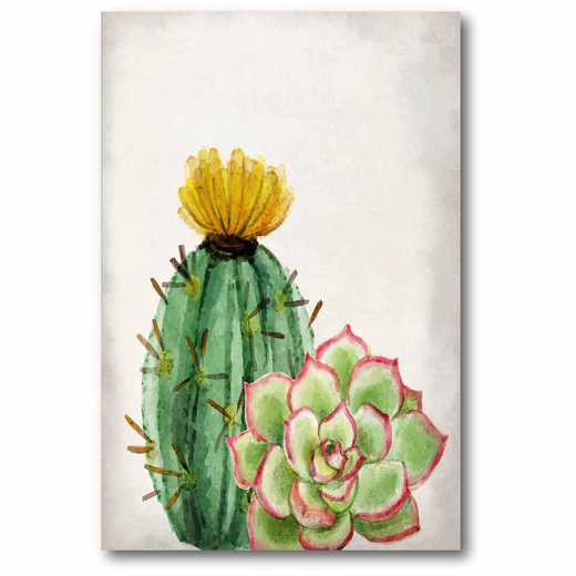 WEB-JV285: In the Desert Cactus 2 Canvas 12x18