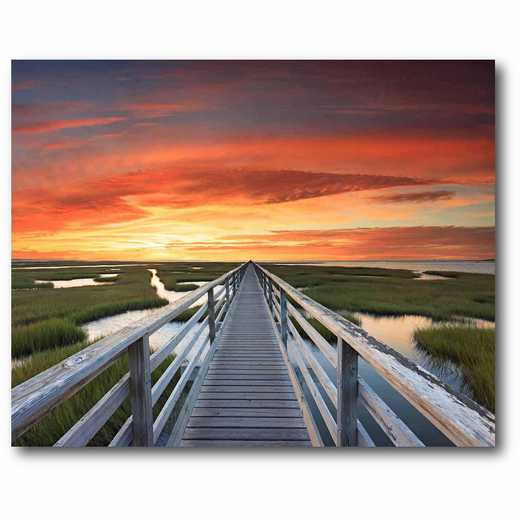 DEC-PO143: Beach Sunset Large Wall Decal 48x60