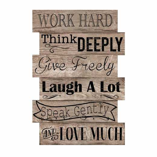 DEC-TYP306: Work Hard Med Wall Decal 20x30