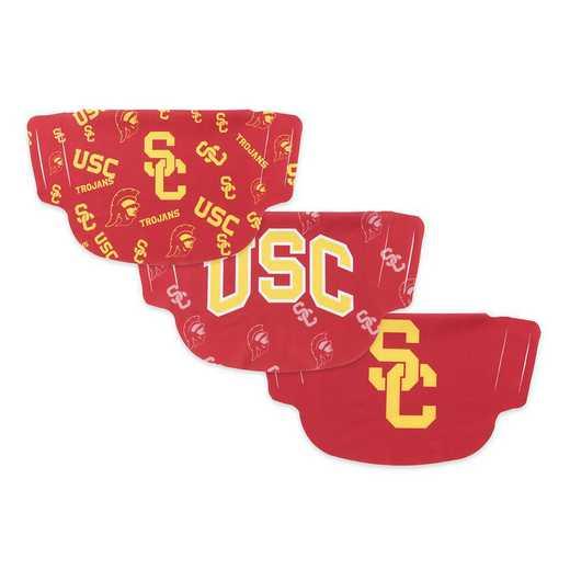 PD-USC-MSK3: University of Southern California 3 Pack Face Masks