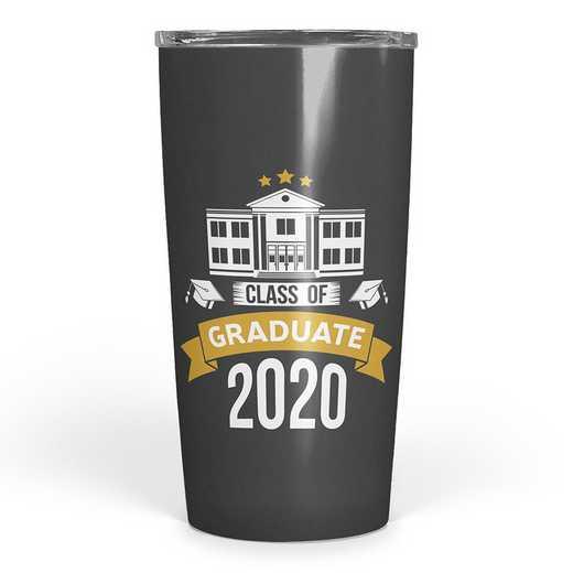 4628-Q: SS Tumbler - Graduate 2019